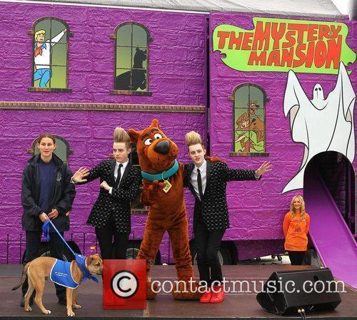 Jedward and Scooby Doo
