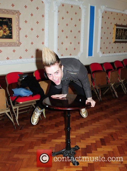 Jedward, aka John Grimes and Edward Grimes attend...