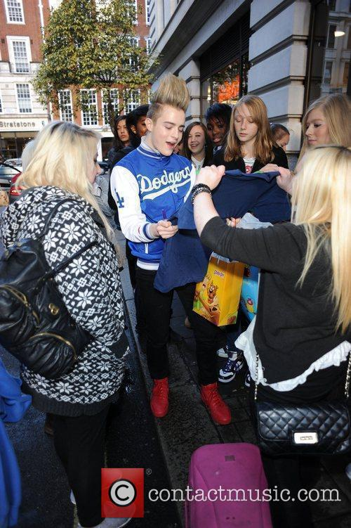 The Jedward boys receive lots of birthday gifts...