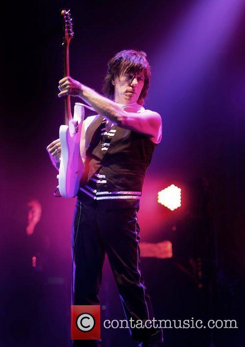 Jeff Beck performing at Manchester O2 Apollo Theatre.