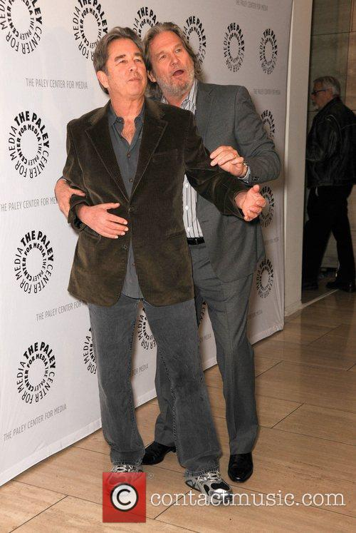 Jeff Bridges and his brother Beau Bridges The...