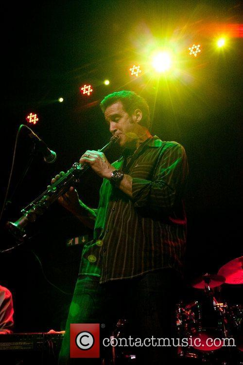 Eric Marienthal on clarinet,  Jeff Lorber Fusion...