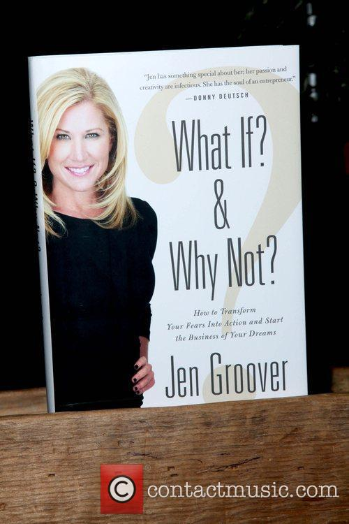 Jen Groover celebrates the launch of her book...