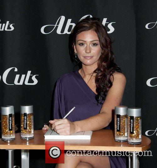 Jenni JWOWW Farley in store signing for Ab...