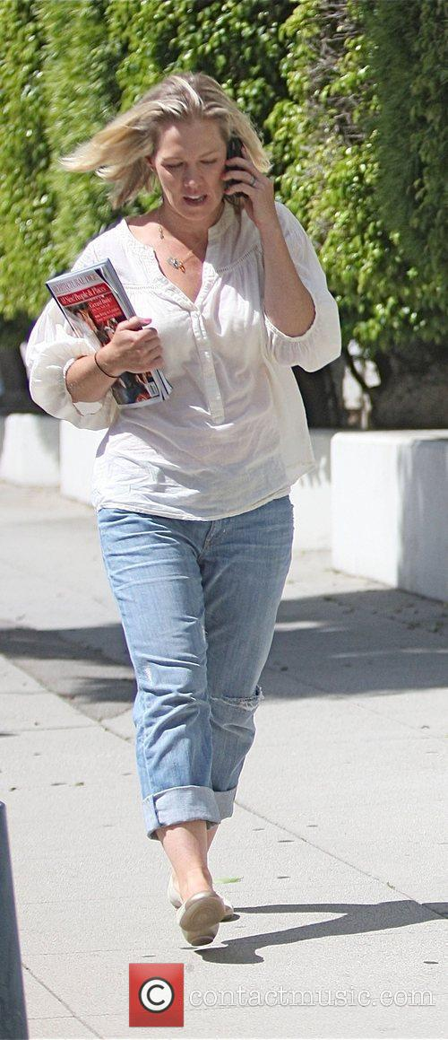 Jennie Garth was spotted going to a medical...