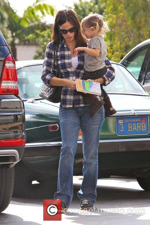Jennifer Garner and Seraphina Affleck are seen doing...