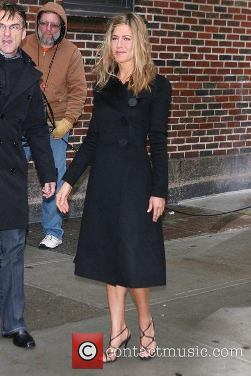 Jennifer Aniston and David Letterman 9