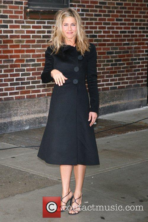 Jennifer Aniston and David Letterman 7