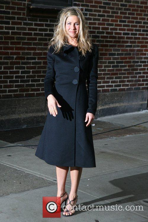 Jennifer Aniston and David Letterman 12