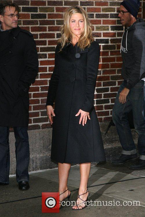 Jennifer Aniston and David Letterman 11