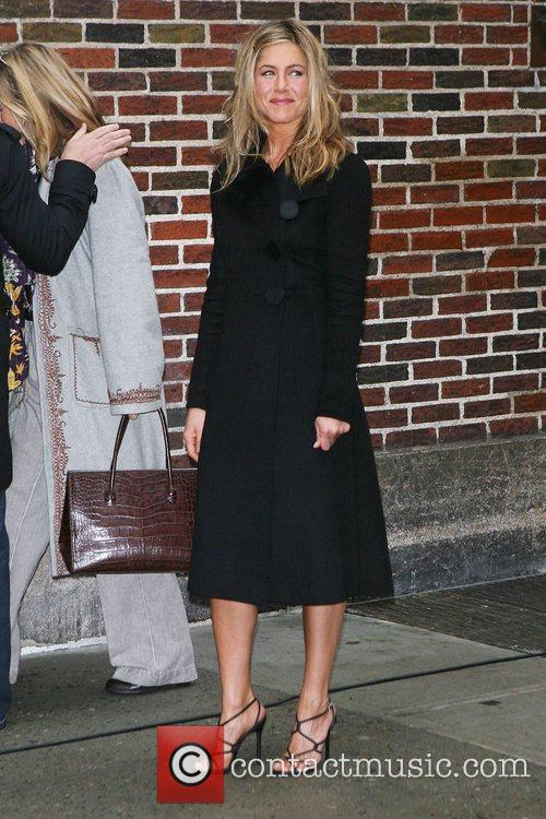 Jennifer Aniston and David Letterman 10