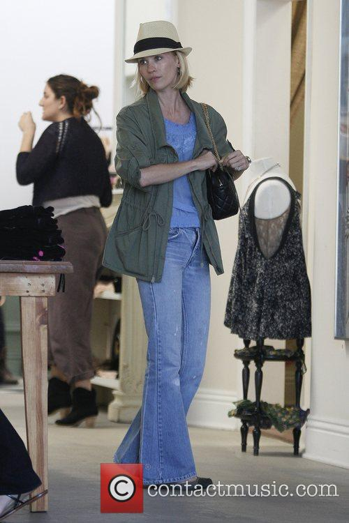 'Mad Men' star January Jones shopping together at...