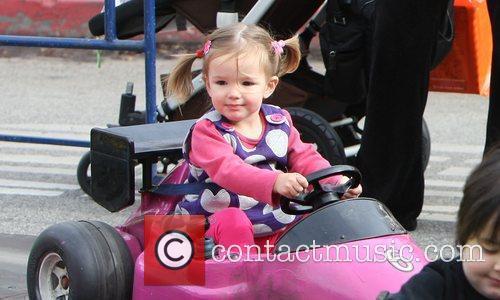 Jennifer Garner's youngest daughter, Serephina Affleck, enjoys a...