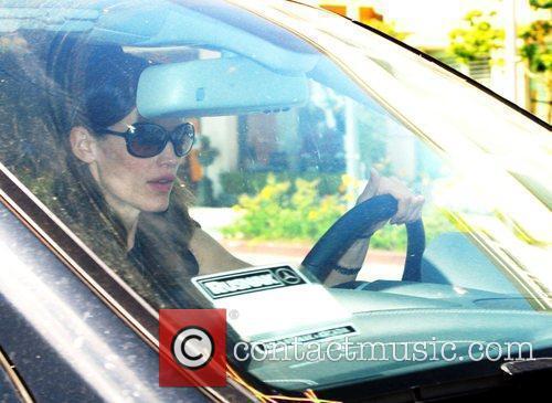 Jennifer Garner departs Bouchon Restaurant Los Angeles, California