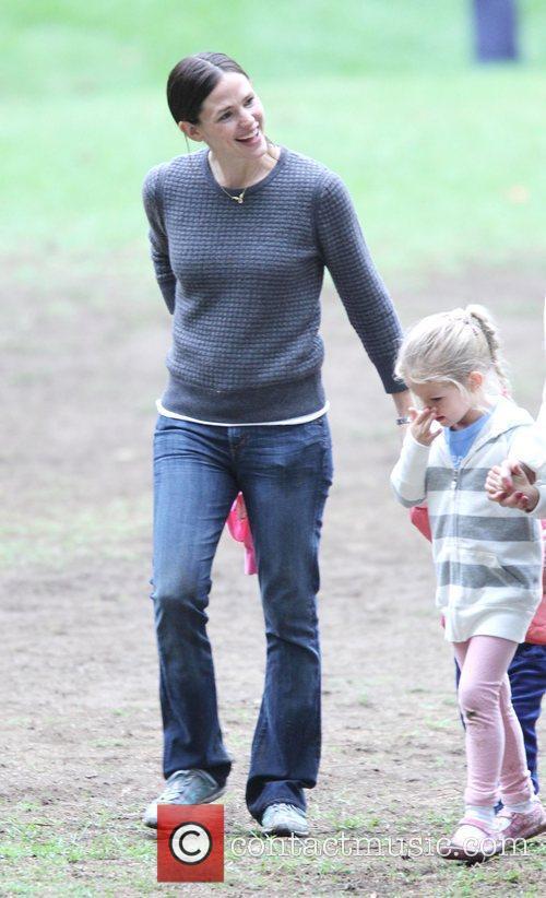 Jennifer Garner and Violet Jennifer Garner and her...