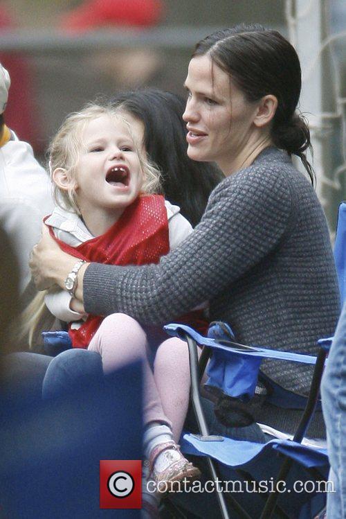 Jennifer Garner and Violet Affleck Jennifer Garner and...