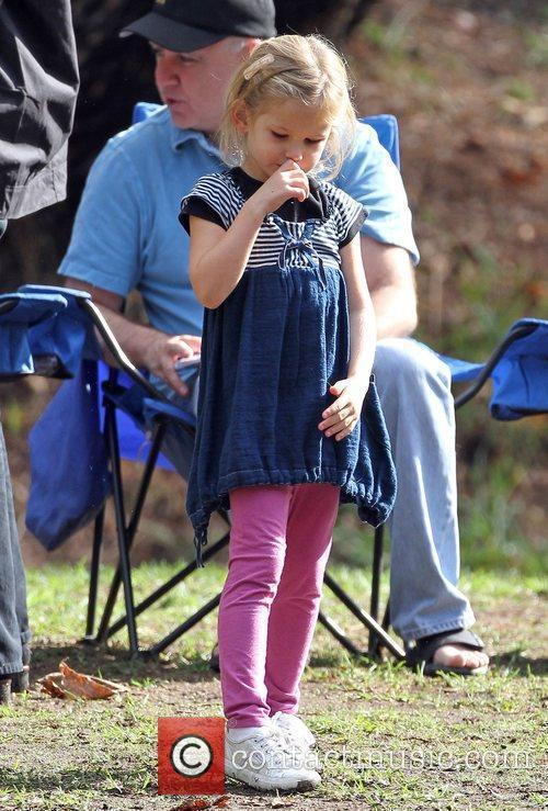 Violet Affleck Jennifer Garner and her daughter Violet...