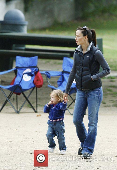 Jennifer Garner and her daughter Seraphina Rose Elizabeth...