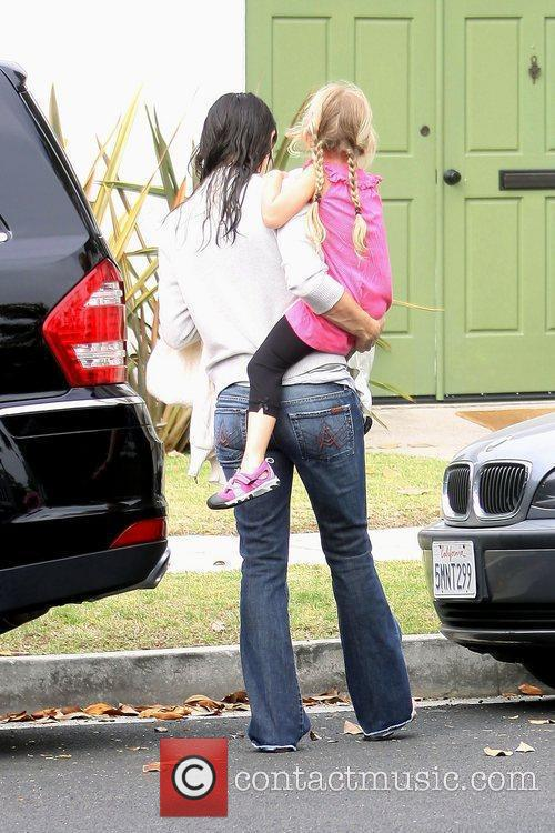 Jennifer Garner takes her daughter, Violet Affleck, to...