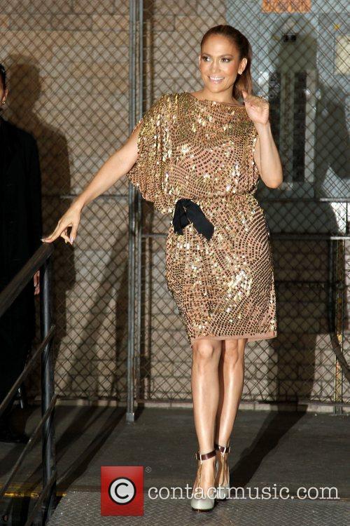 Jennifer Lopez arrives at CBS studios New York...