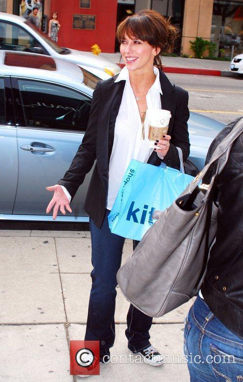 Jennifer Love Hewitt shops with a friend at...