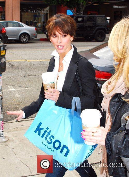 Shops with a friend at Kitson on Robertson...