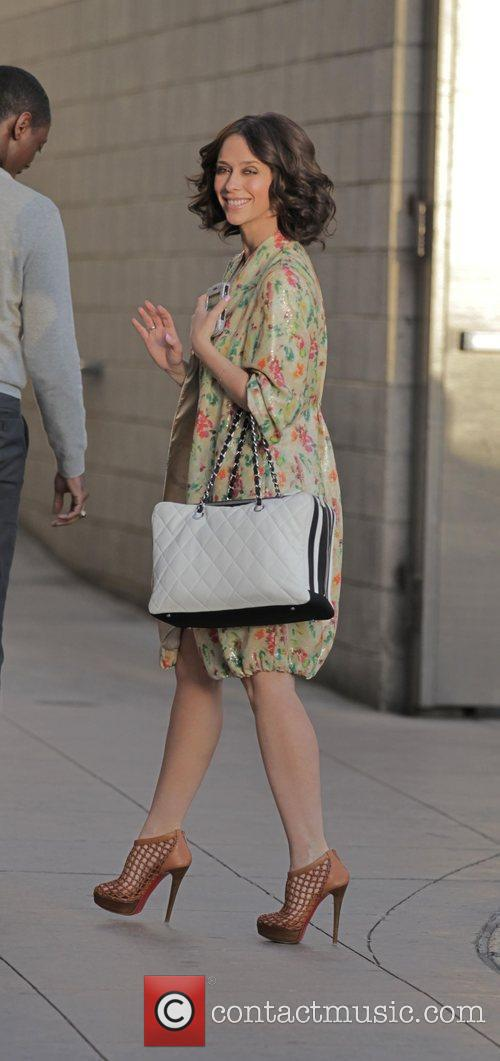 Jennifer Love Hewitt arrives at The Grove to...