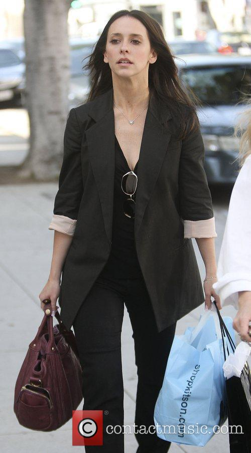 Jennifer Love Hewitt shopping with a friend at...