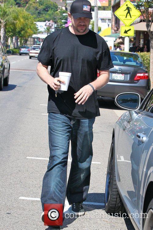 Leaving a restaurant after having breakfast in Studio...
