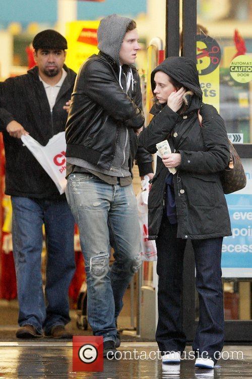 Jennifer Love Hewitt and her new boyfriend, Alex...