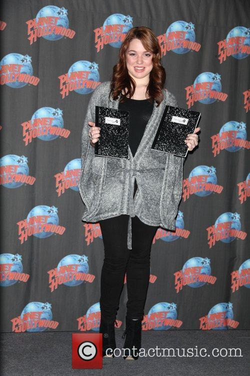 Jennifer Stone  promotes the DVD release of...