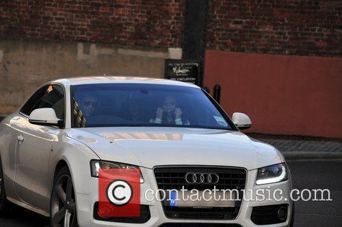 Jenny Metcalfe  is picked up outside the...