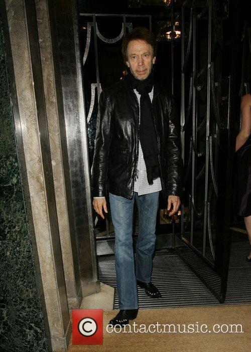 Jerry Bruckheimer is seen leaving Claridges Hotel in...