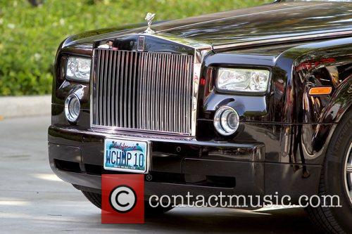 Jerry Buss' Rolls-Royce, who owns the Los Angeles...