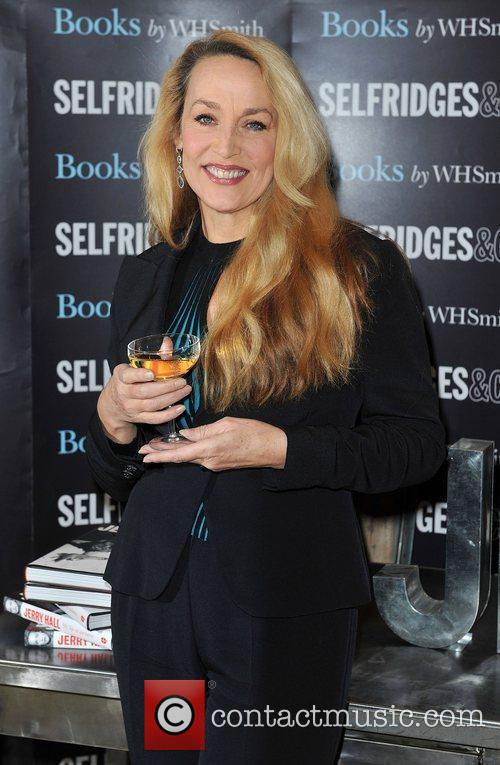 Jerry Hall signs copies of her book 'My...