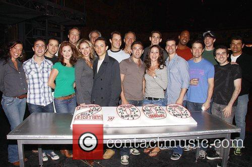 The Broadway musical production of 'Jersey Boys' celebrates...