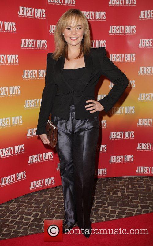 Belinda Wollaston The opening night of 'Jersey Boys'...