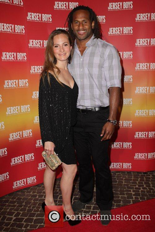 Bek and Lote Tuquiri The opening night of...