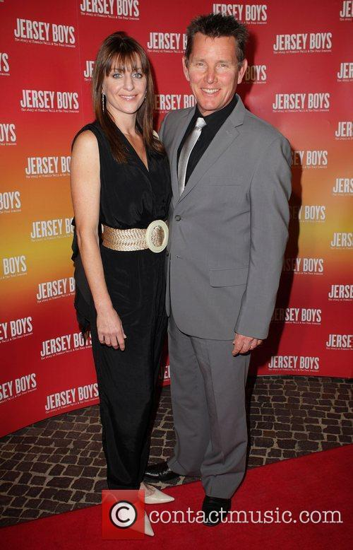 Tom Burlinson and Mandy Carnie The opening night...