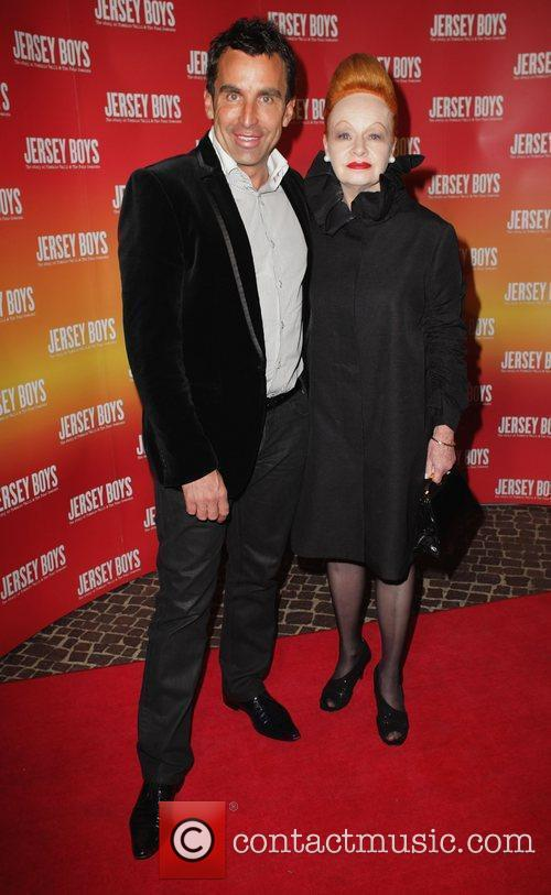 Joh Bailey and Suzanne Pritchard The opening night...