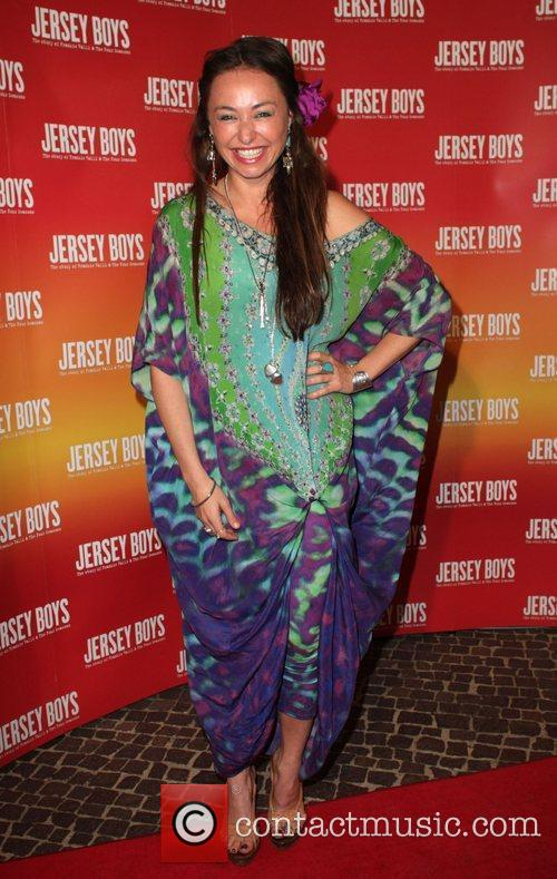 Camilla Franks The opening night of 'Jersey Boys'...