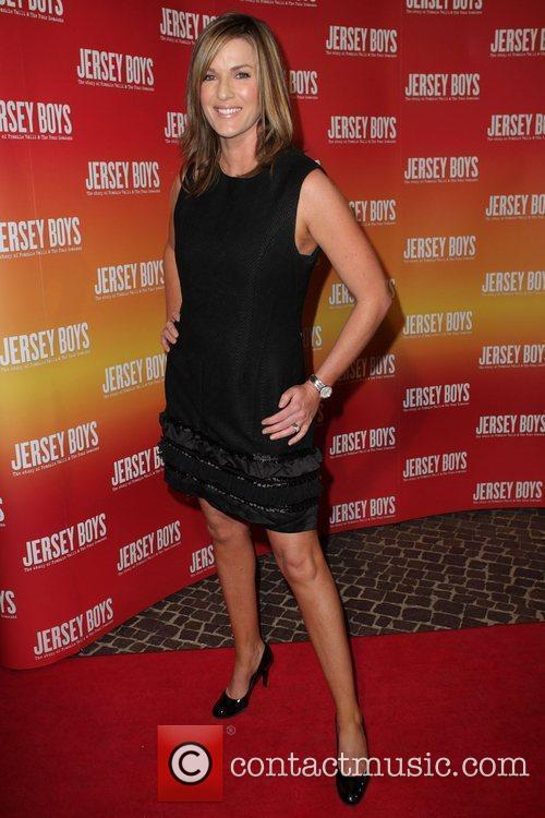Kylie Gillies The opening night of 'Jersey Boys'...
