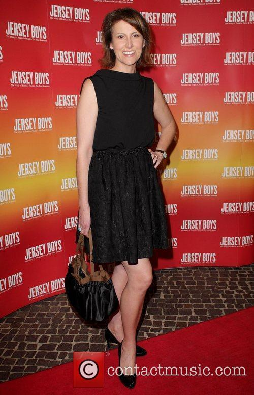 Natalie Barr The opening night of 'Jersey Boys'...