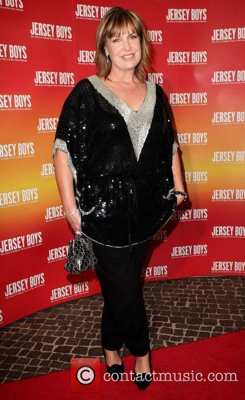 Tracy Grimshaw The opening night of 'Jersey Boys'...