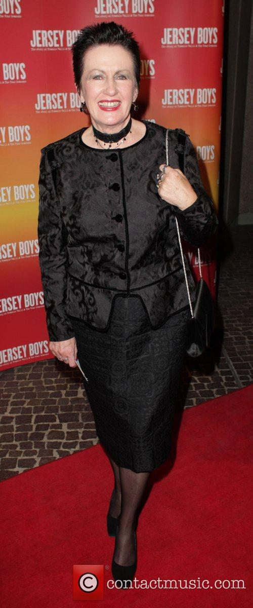 Clover Moore The opening night of 'Jersey Boys'...
