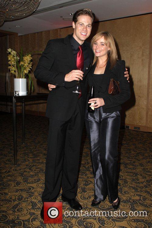 Stephen Mahy and Belinda Wollaston The 'Jersey Boys'...