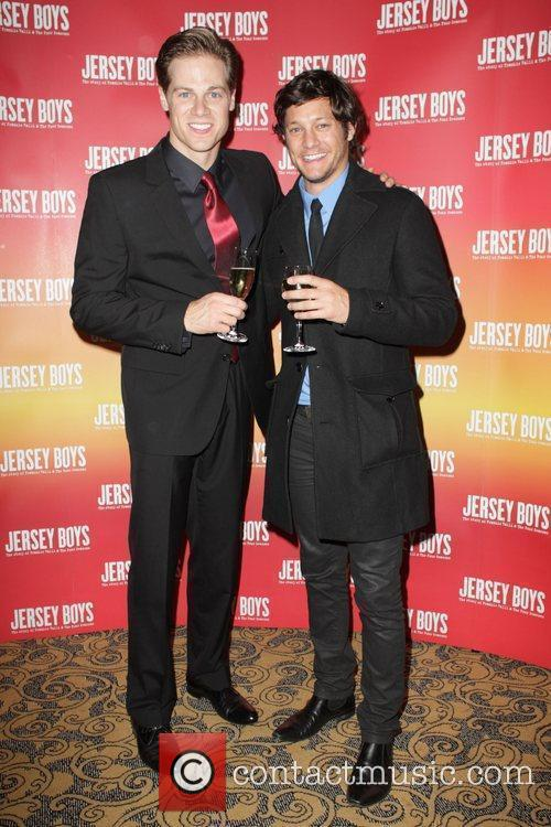Stephen Mahy and Rob Mills The 'Jersey Boys'...