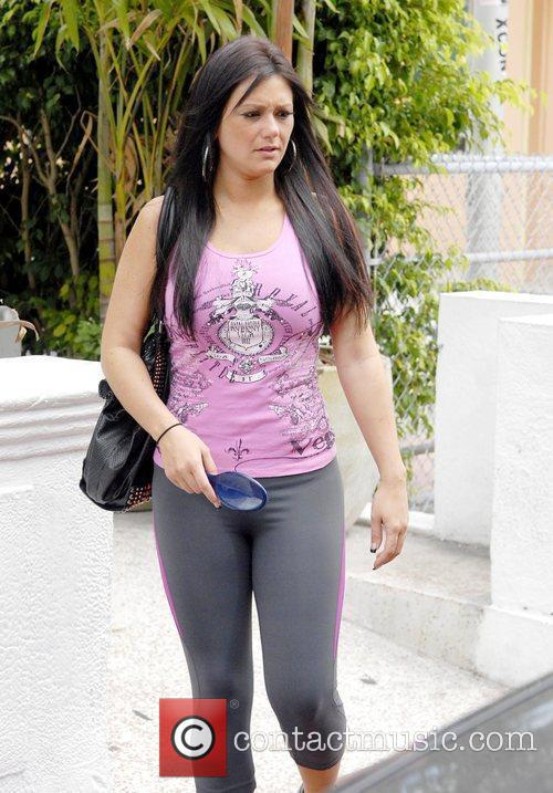 Jenni JWoww Farley out and about in South...