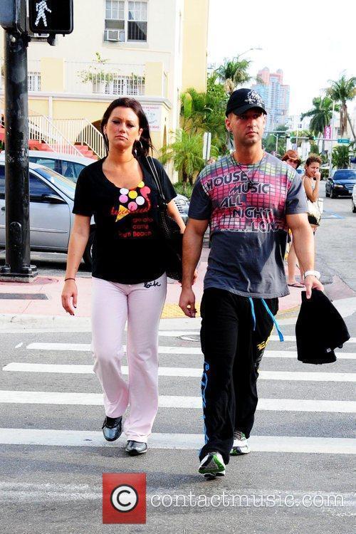 Michael Sorrentino aka 'The Situation' and Jenni Farley...
