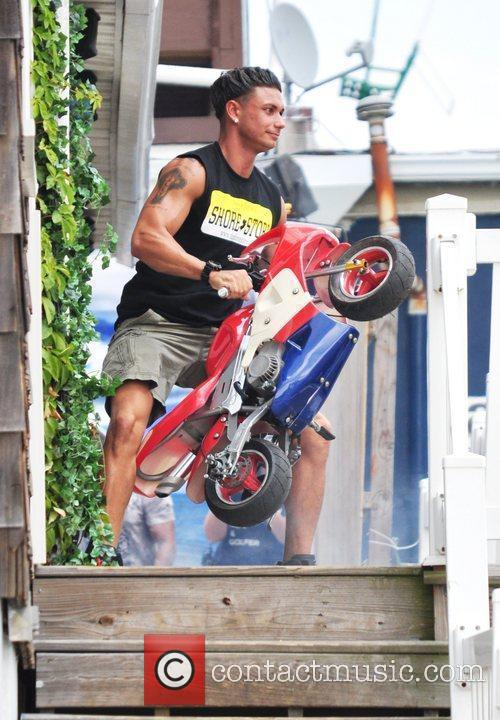 Pauly Delvecchio Pauly D is seen playing with...